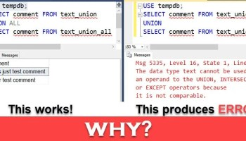 SQL SERVER - Simple Puzzle Using Union and Union All - Answer puzzleunionall