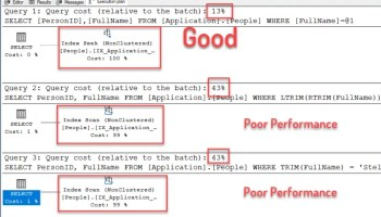 SQL Server - Performance Comparison of Function Trim and LTRIM(RTRIM) trimfunction1-800x472