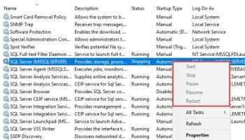 SQL SERVER - Why SQL Server Service is Stuck in Starting / Change Pending State? sql-change-pending-03