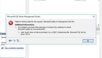 SQL SERVER - DBCC commands List - documented and undocumented checkprimaryfile-err-01