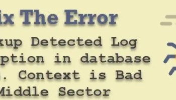 SQL SERVER - Msg 0, Level 11 - A Severe Error Occurred on the Current Command.  The results, if Any, Should be Discarded error