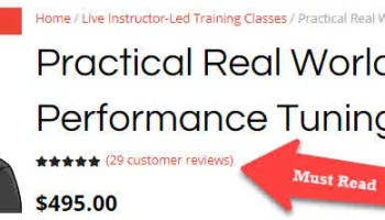 [Exclusive] Practical Real World Performance Tuning - Live Training Session for Limited Time practicalperformancetuning