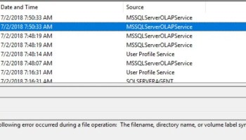 SQL SERVER - Event ID: 10028 - SQL Server Distributed Replay Client – DCOM was Unable to Communicate with the Computer ssas-error-01
