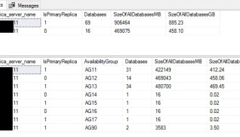 SQL SERVER - Audit Script to Get CPU and Memory Information with MAXDOP Guidelines alwaysonreplica