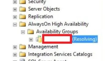 SQL SERVER - Availability Group Missing or Deleted Automatically? ao-resolving-01
