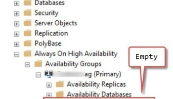 SQL SERVER - Always On Listener Creation Failure - Enabling Object ProdListener Failed With Error 5 list-miss-01