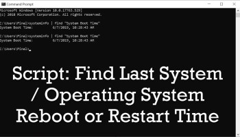 SQL SERVER - Frequency of SQL Server Reboot and Restart reboottime