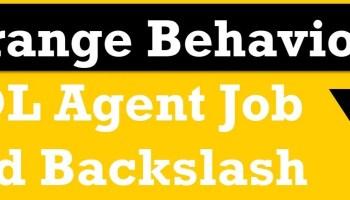 SQL SERVER - Running SQL Agent Job After Completing Another Job backslash