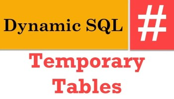 SQL SERVER - DELETE Qualified Rows From Multiple Tables - Part 2 dynamic