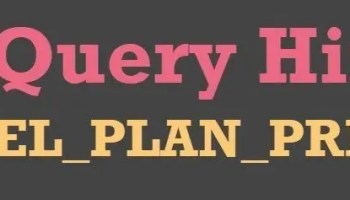 SQL SERVER - Limitation of ENABLE_PARALLEL_PLAN_PREFERENCE Hint queryhint