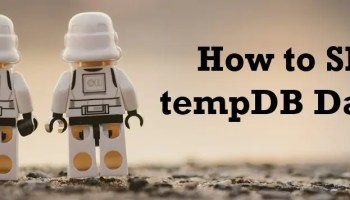 How to Change Database File Size? - Interview Question of the Week #296 shrink-tempdb