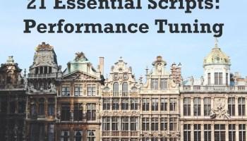 SQL SERVER - Pre-Con 21 Essential Scripts in Prague and Amsterdam europe