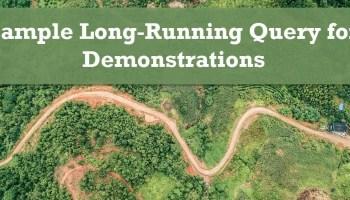 SQL SERVER - Checklist for Analyzing Slow-Running Queries longrunning
