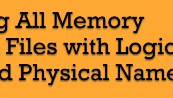 SQL SERVER - Get List of the Logical and Physical Name of the Files in the Entire Database Physical-Name