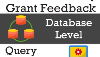 SQL SERVER - View Percentage Completed for A Long Executing Query disable-query-feedback