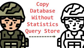 SQL SERVER - Clone Database Using DBCC CLONEDATABASE copydatabse