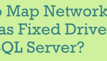 How to Copy Files in SQL Server? - Interview Question of the Week #257 NetworkDrive