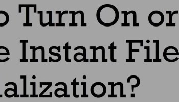 How to Find Service Account for SQL Server and SQL Server Agent? - Interview Question of the Week #179 fileinitialization