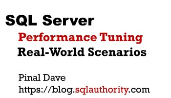 SQLBits Training Day - SQL Server Performance Tuning Real-World Scenarios cover