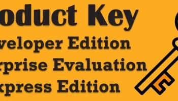SQL SERVER – SHRINKDATABASE For Every Database in the SQLServer productkey