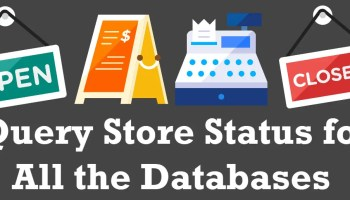 SQL SERVER - Unable to Disable Query Store for Always On Database querystorestatus0