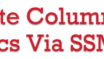 SQL SERVER Management Studio 18 - Enable Dark Theme ColumnStatistics