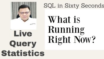 SQL SERVER - View Percentage Completed for A Long Executing Query 104-LiveQuery