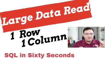 SQL SERVER - Scan Count Zero for Statistics IO 111-SingleRowSingleColCover-Alternative