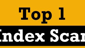 SQL SERVER - Index Scans are Not Always Bad IndexScan