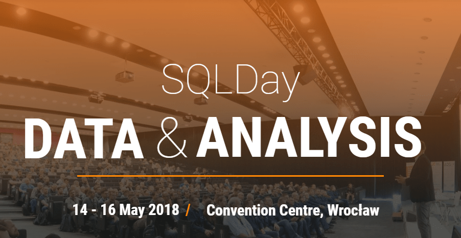 I will speak at SQLDay 2018 conference