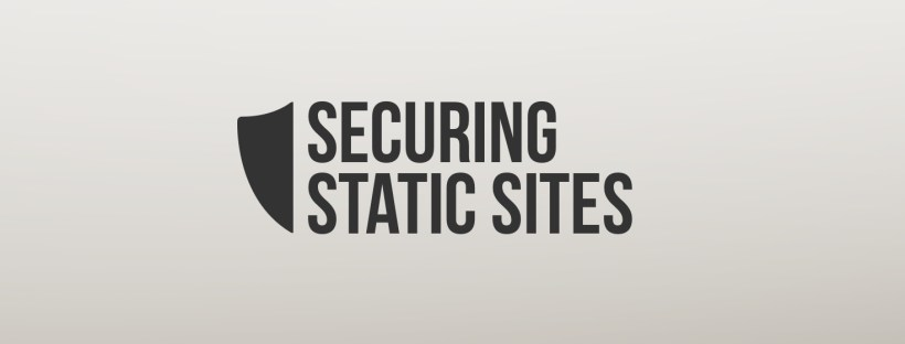 Securing Static Websites