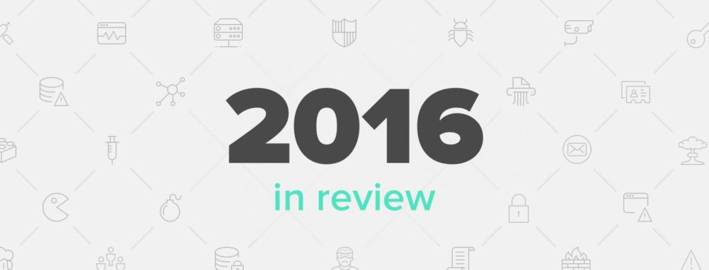 Security In 2016 - The Year In Review - Sqreen Blog | Modern Application  Security