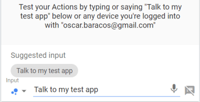 Test invocation