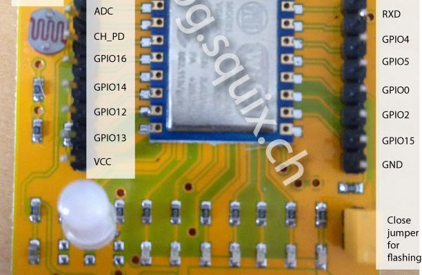 ESP8266: Test board review - Squix - TechBlog