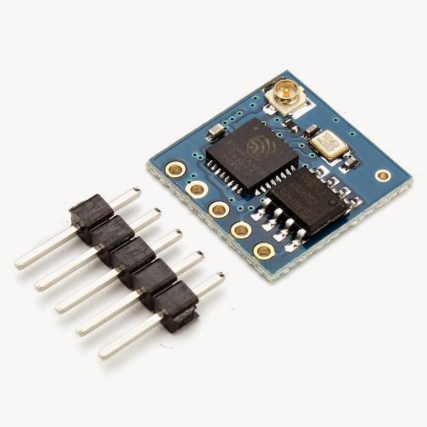 ESP8266 module comparison: ESP-01, ESP-05, ESP-12, ESP-201