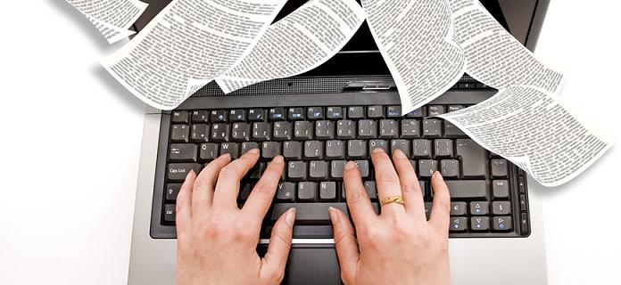 copywriter-typing-documents