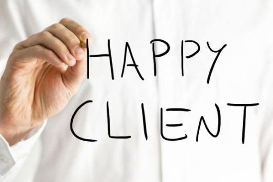 Happy-Client