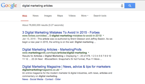 Artikel tentang Digital Marketing