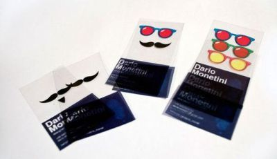 Stylish Transparency Business Card