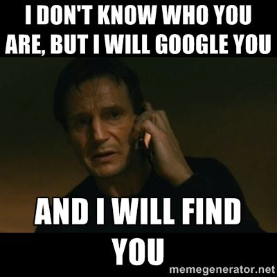 i will google you