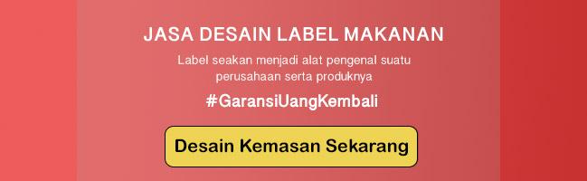 desain label makanan