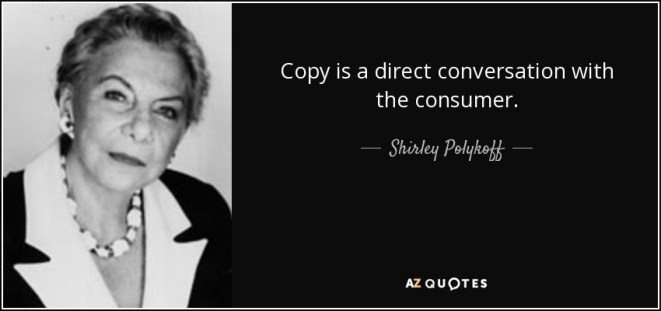 quotes shirley polykoff