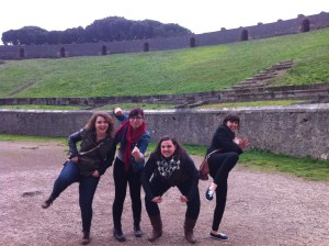 Spring semester 2015 field trip to Pompeii