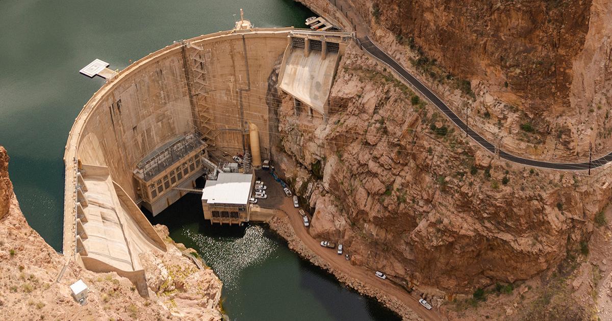 Horse Mesa Dam.