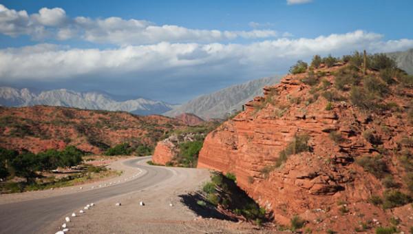 24 - Ruta 40, de Cuesta de Miranda à fronteira La Rioja/San Juan, Argentina