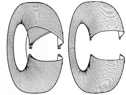 1946: Nasce o pneu radial, da Michelin. Diferentemente do diagonal, a estrutura não se sobrepõe, mas se alinha radialmente, durando mais.