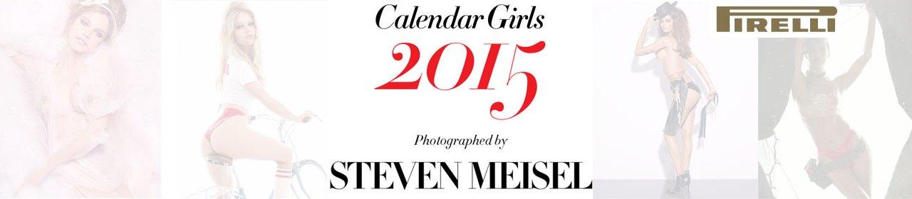 Calendário Pirelli edição 2015
