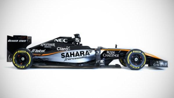 Motor Racing - Sahara Force India F1 Team Livery Launch -  Mexico City, Mexico