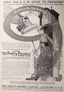 1915 Vacuum Cleaner Ad