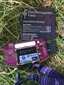 TiLDA Mkπ a Electromagnetic Field 2016
